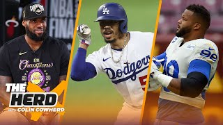 Colin Cowherd lists the Top-10 star Athletes in LA   THE HERD