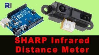 Sharp ir sensor arduino distance: arduino ir distance sensor code
