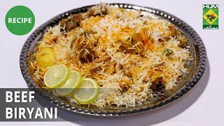Beef Biryani Recipe| Lazzat | Samina Jalil | Desi food