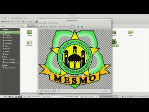 How to Make Transparent Background  Logo Using Inkscape
