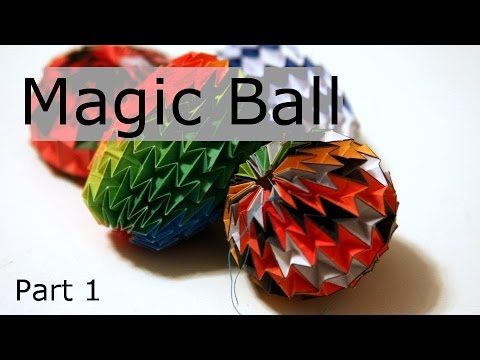 Origami Magic Ball - Part 1