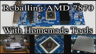 Reballing Sony Vaio - Graphics Card Repair - PakVim net HD