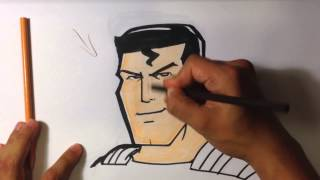 How To Draw Superman Easy Drawings