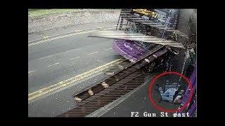 TERMINATOR MAN SURVIVES CRASH