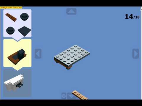 how to maka lego tv on LDD