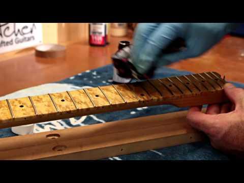 Hand Finishing a Guitar
