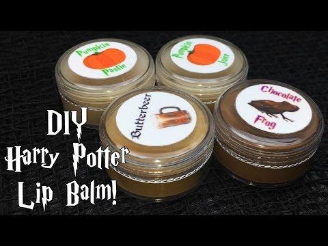 DIY Harry Potter Inspired Lip Balm