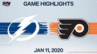 NHL Highlights Lightning Vs Flyers Jan 11 2020