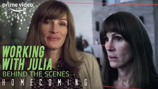 Homecoming - X-Ray Behind the Scenes Ep. 7: Working With Julia Roberts | Prime Video