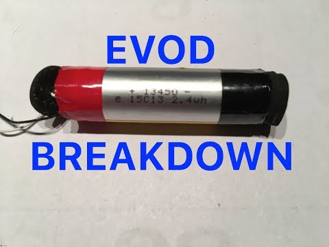 How to open an EVOD to replace the battery