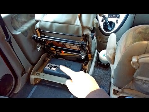 Where is the Battery of the Citroen Xsara Picasso & How to access it?
