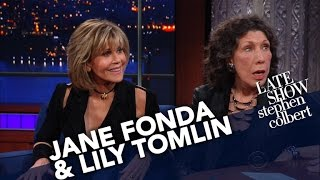Jane Fonda and Lily Tomlin On Marching, Protesting And Being Arrested