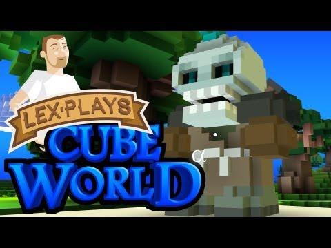 Lex Plays: Cube World Alpha - First Impressions