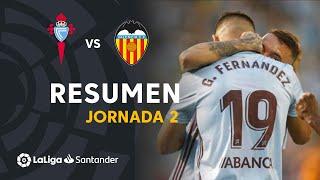 Resumen de RC Celta vs Valencia CF (1-0)