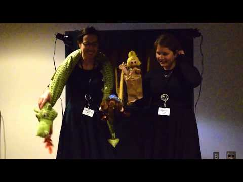 Booktopia Puppet Show 2016 - The Paperbag Princess