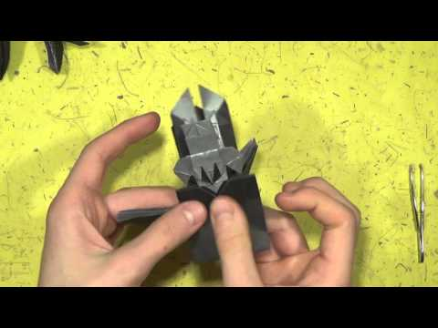 Origami Goliath Beetle by Jesse Barr (TUTORIAL) Shaping