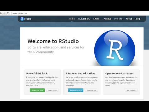 How to install R and R studio on a Mac 2017