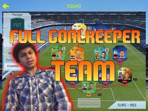 Full goalkeepers team FIFA 15 iOS/Android new season