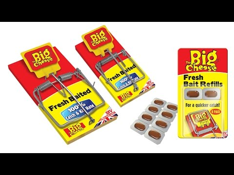 Fresh Baited Traps (STV194 & 195) – Fresh baited for a quicker catch from The Big Cheese