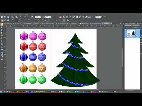 How to decorate your stylized Christmas Tree in XDP7