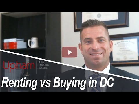 DC Metro Real Estate Agent: Renting vs Buying in DC