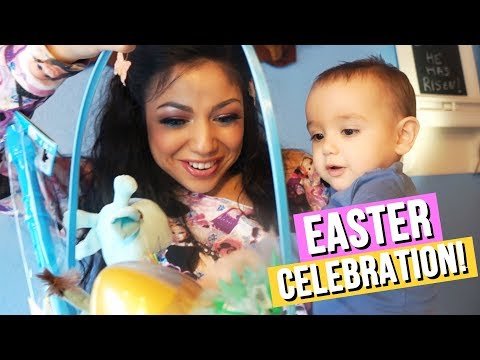 EASTER CELEBRATION With My Family... So CUTE! 🐰