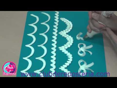 Cómo Usar las Boquillas de Pétalo - Completo Tutorial - 4a  Clase - Parte A