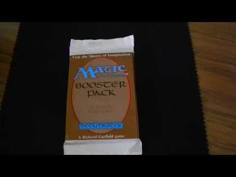 Beta Booster 3 Retitled Timetwister opening MTG Magic the gathering