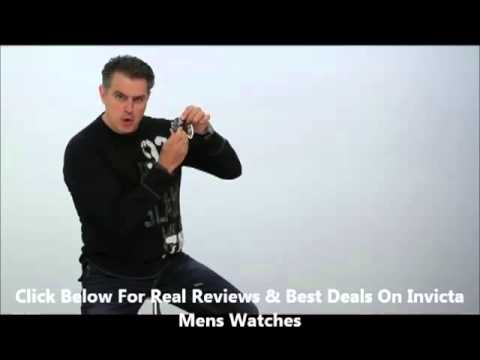 Invicta Mens Watches Deals and How to Reset Your Invicta Quartz