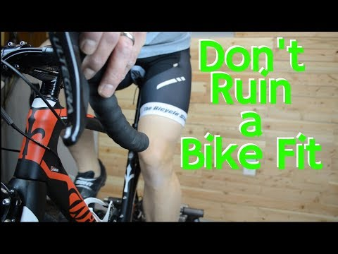 One Mistake that can Ruin a Bike Fit
