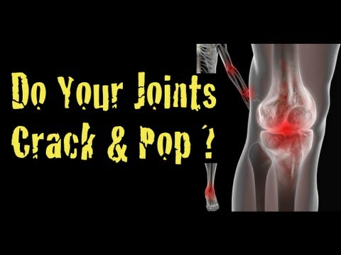 Do Your Joints Pop & Crack When You Workout?