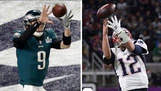 NFL Quarterbacks Catching Passes