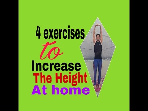 4 exercises to increase height