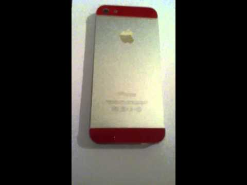 iPhone 5 color back glass replacements
