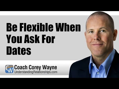 Be Flexible When You Ask For Dates
