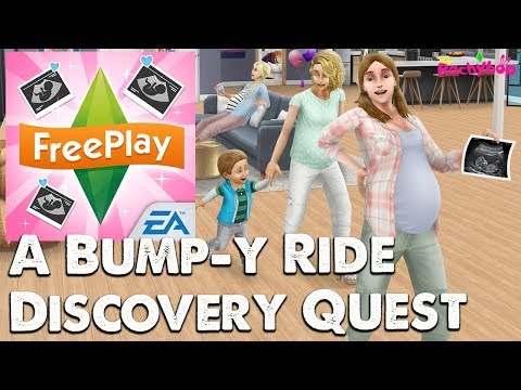 The Sims Freeplay Pregnancy Quest: A Bump-y Ride