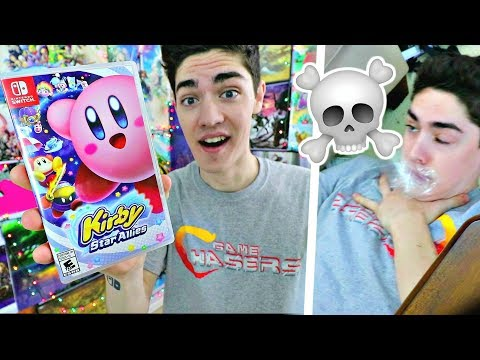 Unboxing Kirby Star Allies ON LAUNCH! [WARNING DO NOT INHALE!]
