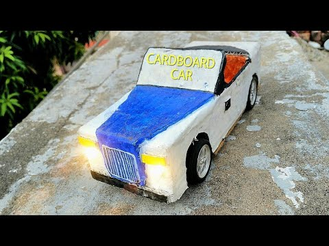 How to make car with cardboard 🚙🚗🚘