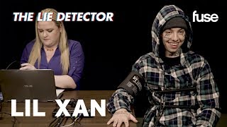 Lil Xan Takes A Lie Detector Test