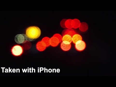 How To Take BOKEH Photos with your iPhone