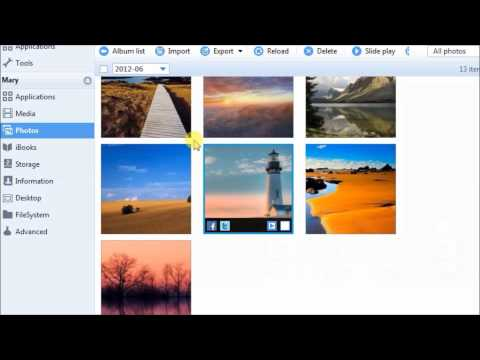 Free transfer photos from iPhone 5, 5s, 5c to Windows 8, 7, XP, Vista
