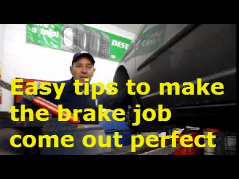 How to replace front brakes and rotors on a 2005 Honda Civic