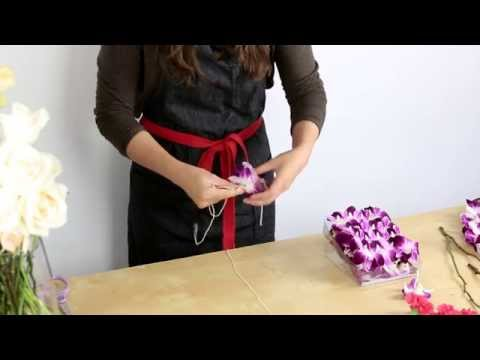 How to make a floral lei