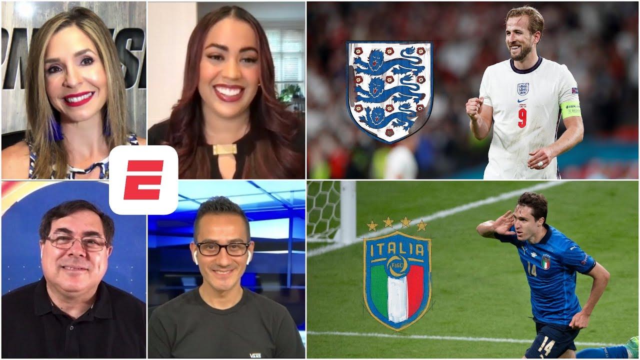 EURO 2020. Inglaterra vs Italia   LA PREVIA   ¿Qué equipo romperá con su sequía?   Exclusivos