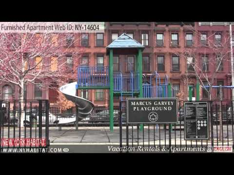 New York City - Video tour of a furnished apartment on West 119th Street (Harlem, Manhattan)