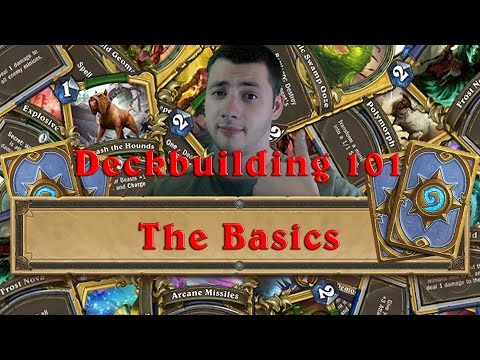 Deckbuilding 101 - The Basics - P4wny Talks about Hearthstone [1080p/Eng]