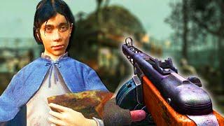 PLAYING AS SAMANTHA - INSANE SHI NO NUMA MOD: Call of Duty Zombies Mod!