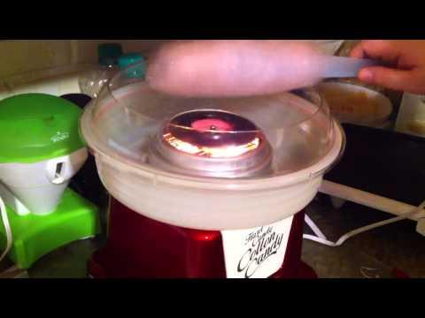 Nostalgia hard cotton candy maker
