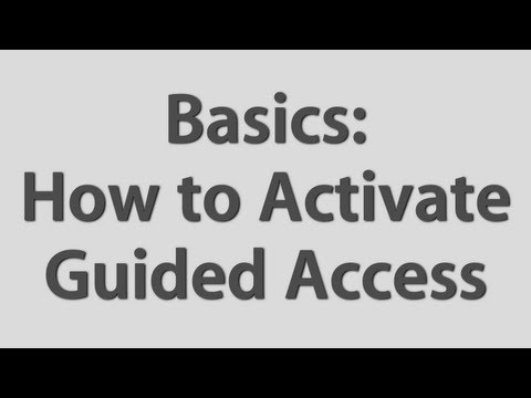How to Use Guided Access
