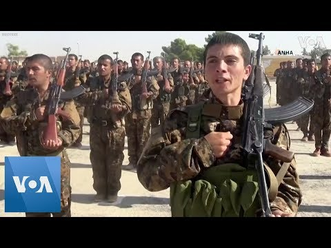 Xxx Mp4 Kurdish Fighters Graduate To Join Syrian Democratic Forces 3gp Sex